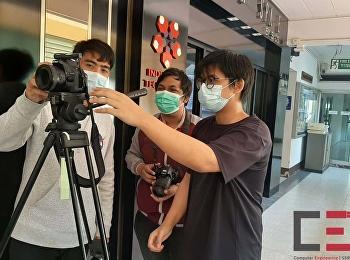 ทีมนักศึกษาสาขาวิชาวิศวกรรมคอมพิวเตอร์ บันทึกวีดีโอ เพื่อใช้เป็นสื่อสำหรับการเรียนการสอนออนไลน์ ในช่วงแพร่ระบาดเชื้อไวรัสโคโรน่า หรือ COVID-19